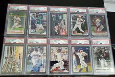 HUGE 150+ CARD PSA AUTO #'D BASEBALL PROSPECT ROOKIE COLLECTION LOT LOADED