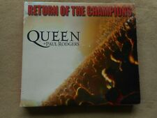 "QUEEN ""RETURN OF THE CHAMPIONS"" 2 DIGIPAK CD WITH PAUL RODGERS BAD COMPANY FREE"
