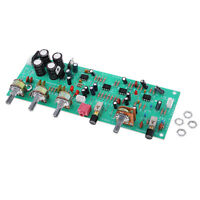 DX338A HIFI Preamp Pre-amplifier Tone Board Kits Volume Control AC 12V