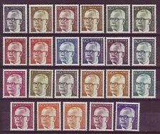 Postfrische Briefmarken aus Berlin (1970-1979) mit
