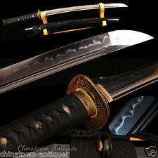 Japanese Samurai Sword Katana 1095 High Carbon steel w Clay Tempered Sharp #2460