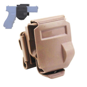 Tactical Right Hand Rotates 360 MOLLE Clip New Style Holster for Glock G17 19 22