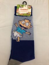 Rugrats Nickelodeon Tommy Pickles Men's Blue Socks Size 6-12 Nwt