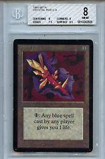 MTG Beta Crystal Rod BGS 8.0 NM-Mint Card Magic Amricons 2920