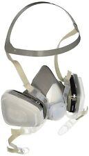 3M 66068 Half Facepiece Disposable Respirator 51P71, Organic Vapor/P95, Small