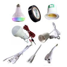 Pendant Bulb Hang Light Socket Holder E27 Lamp Bases + Switch Wire 1.5M 1.8M
