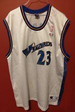 VINTAGE CHAMPION Michael Jordan #23 Jersey Washington Wizards NBA 48 XL White
