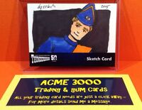Thunderbirds 50 Years Unstoppable Cards - Bruce Gerlach Sketch Card SK2