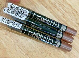 Lot Of 3 NEW Rimmel Scandaleyes 24-Hr Waterproof Eyeshadow Crayon 011 Bluffing