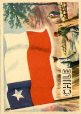 1956 A & BC Flags of the World Mini 69 Chile NM #D376414