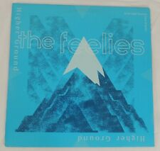 The Feelies Promotional HIGHER GROUND Vinyl LP 1988 + 2 LIVE Songs