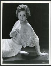 ARLINE JUDGE Original Vintage 1933 BACHRACH Stamp RKO PICTURES PORTRAIT Photo
