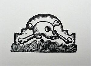 Eric Ravilious (1903-1942) Original woodcut printed from 1932 block;..