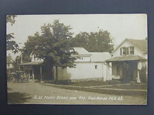 Fish House Northampton New York NY DW Noyes Store Real Photo Postcard RPPC 1915