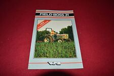 Oliver White 31 Field Boss Tractor Dealer's Brochure DADS