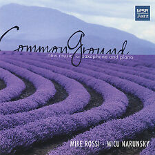 Mike Rossi : Common Ground-New Music For Saxophone An CD