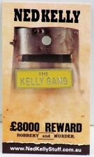 79005 NED KELLY STUFF COLLECTABLE PIN BADGE 5 of 20 KELLY GANG NUMBER PLATE