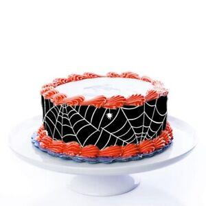 Tortenband Spinnennetz essbar - 4 Stück á 24cm x 5cm