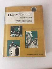 Harry Houdini : Boy Magician - Kathryn Kilby Borland (1969, DJ, Hardcover)