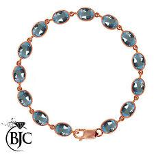 Natural Not Enhanced Topaz Fine Bracelets