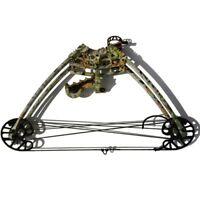 Archery Compound Bow Dual-use Catapult Steel Ball Bowfishing Hunting Triangle