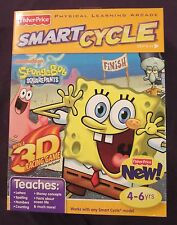NEW Factory Sealed Sponge Bob Smart Cycle Game Cartridge w 1 One 3D Activity