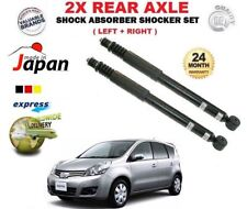 FOR NISSAN NOTE 1.4 1.6 1.5 dCi 2006-2012 REAR LEFT RIGHT SHOCK ABSORBER SET