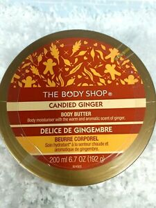 RARE Discontinued BODY SHOP Candied Ginger Body Butter 200ml New Sealed