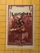 Germany FRANCE (Lorient) WWII-GERMAN OCC.  1+5 Fr.  MNH Priv. Issue /s3