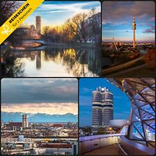 Kurzreise Urlaub Reisegutschein München 3 Tage 2 Personen Städtereise Wochenende
