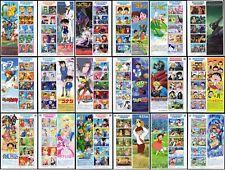 Japan 2005 - 2013 Animation Hero and  Heroine Series Sheetlets MNH