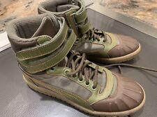 774875e0bcb8 Puma Sky II Hi Duck Boot 362891-02 - Green Brown - Boys Men s