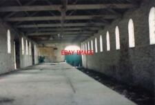 PHOTO  1995 INSIDE OKEHAMPTON GOODS SHED THIS MAY BE OF INTEREST TO ANYONE WHO'S