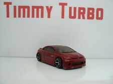 HOT WHEELS HONDA CIVIC SI COUPE 2006 RED 70 MM MALAYSIA 1:64