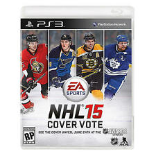 NHL 15 (Sony PlayStation 3, 2014)  Complete  Fast Shipping !