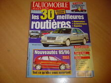 L'automobile N°588 Mercedes E 230.BMW 316i Coupé.Golf TDi / 306 D Turbo/
