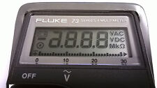 Fluke 73 Display Repair Kit for Faded LCD How To Instructions