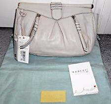 Radley Bermondsey Ivory Leather Clutch Bag Brand New With Tags Beautiful