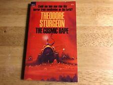 THE COSMIC RAPE PAPERBACK BOOK BY THEODORE STURGEON (DELL 1512)
