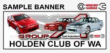 2000MM X 1500MM - CUSTOM  WORKSHOP - CAR CLUB - MAN CAVE - SHOW  BANNERS