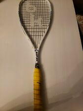 Black Knight REFLEX Squash Racquet Great shape! Yellow overgrip RF-86 135gr