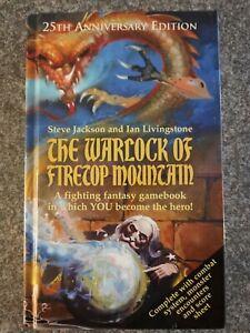 The warlock of firetop mountain Hardback 25th anniversary edition FF #1, as new