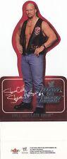 STONE COLD STEVE AUSTIN 2002 Raw vs Smackdown WWE BOX TOPPER POP UP CARD Rare!