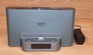 Genuine Sony (ICF-CS15IP) Personal Audio Docking System for iPod/iPhone **READ**