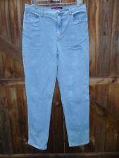 "Gloria Vanderbilt Straight Leg Blue Jeans Size 14 Inseam 33""................Z175"