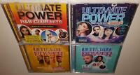 DJ RECTANGLE ULTIMATE POWER R&B CLUB HITS VOLUMES 1 2 3 & 4 BRAND NEW SEALED CDs