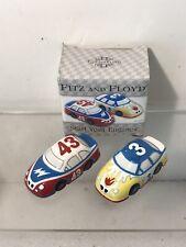 Race Car 43 & 3 Salt And Pepper Shakers Nascar Fans