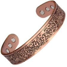 Vintage Chunky Magnetic Copper Bangle