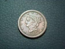 1849 Braided Hair Half Cent VF+ 20118