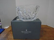 Waterford Crystal Grant Bowl New with Box 10 Wedding Glass Lead Slovenia